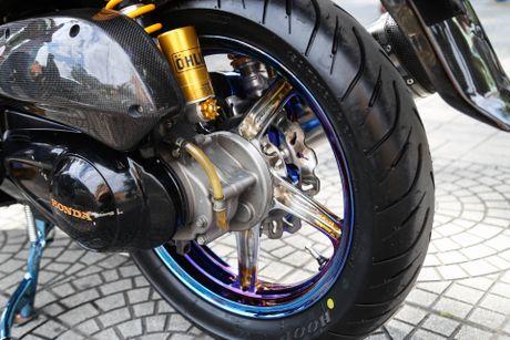 Honda SH bien ngu quy do tren 200 trieu cua biker Sai Gon - Anh 16