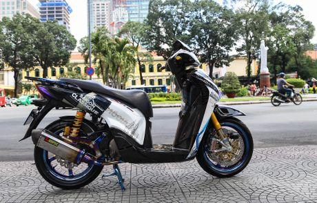 Honda SH bien ngu quy do tren 200 trieu cua biker Sai Gon - Anh 1