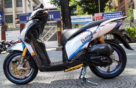 Honda SH bien ngu quy do tren 200 trieu cua biker Sai Gon - Anh 3