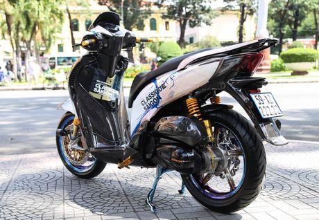 Honda SH bien ngu quy do tren 200 trieu cua biker Sai Gon - Anh 4