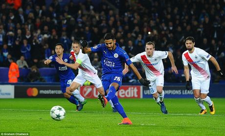 Leicester doat ve du vong 1/8 Champions League - Anh 10