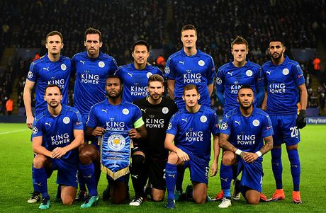 Leicester doat ve du vong 1/8 Champions League - Anh 1