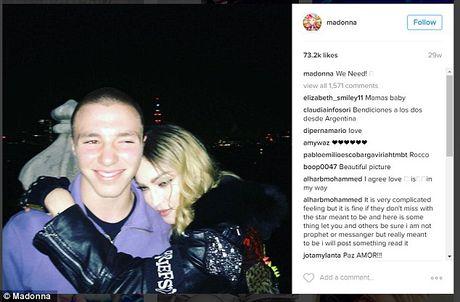 Con trai Madonna bi bat vi tang tru can sa - Anh 3