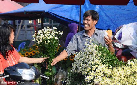 Cuc hoa mi ve tren pho Ha Noi - Anh 4