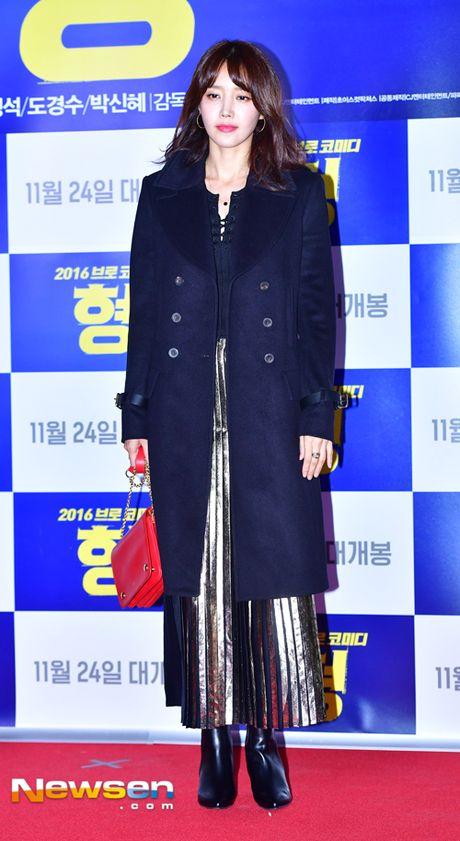 Nguoi dep dao keo Park Min Young mum mim vi tang can - Anh 6