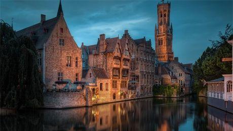 Bruges - thanh pho co tich cua chau Au - Anh 1