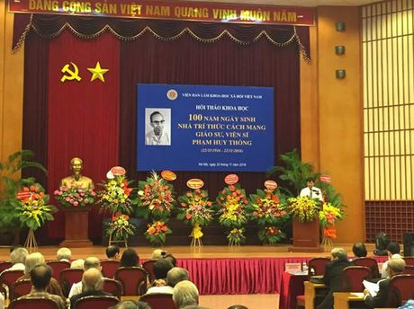 GS.VS Pham Huy Thong - Mot tri thuc uyen bac - Anh 1