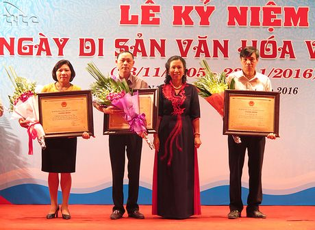 Ha Noi ky niem Ngay Di san van hoa Viet Nam 2016 - Anh 4