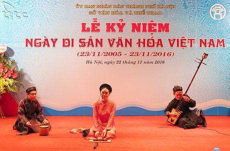 Ha Noi ky niem Ngay Di san van hoa Viet Nam 2016 - Anh 7