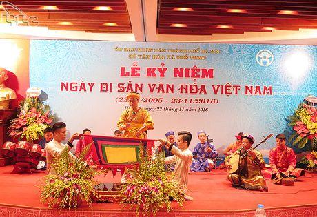 Ha Noi ky niem Ngay Di san van hoa Viet Nam 2016 - Anh 8