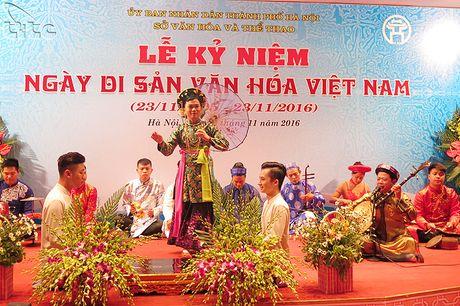Ha Noi ky niem Ngay Di san van hoa Viet Nam 2016 - Anh 9