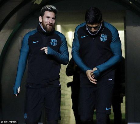 Chum anh: Dan sao Barca kho so trong gia lanh truoc tran gap Celtic - Anh 4