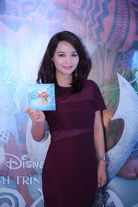 Mai Thu Huyen gian di tai le ra mat phim 'Hanh trinh cua Moana' - Anh 1