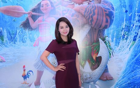 Mai Thu Huyen gian di tai le ra mat phim 'Hanh trinh cua Moana' - Anh 2