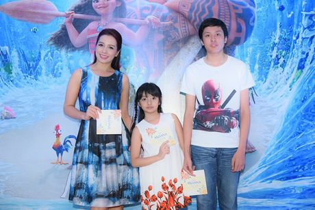Mai Thu Huyen gian di tai le ra mat phim 'Hanh trinh cua Moana' - Anh 3