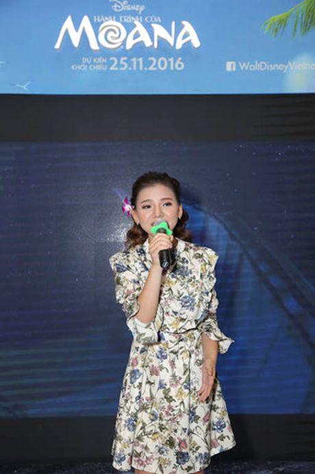 Mai Thu Huyen gian di tai le ra mat phim 'Hanh trinh cua Moana' - Anh 4