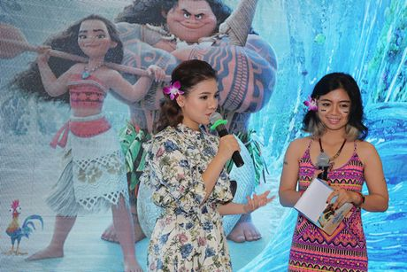 Mai Thu Huyen gian di tai le ra mat phim 'Hanh trinh cua Moana' - Anh 5