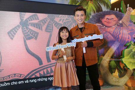 Mai Thu Huyen gian di tai le ra mat phim 'Hanh trinh cua Moana' - Anh 9
