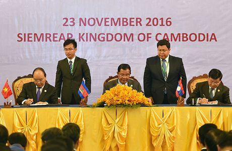 Campuchia - Lao - Viet Nam nhat tri tang cuong ket noi 3 nen kinh te - Anh 3
