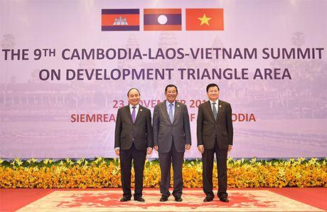 Campuchia - Lao - Viet Nam nhat tri tang cuong ket noi 3 nen kinh te - Anh 4
