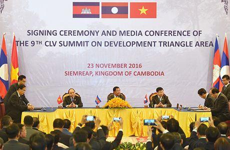 Campuchia - Lao - Viet Nam nhat tri tang cuong ket noi 3 nen kinh te - Anh 5