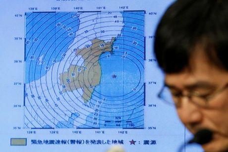 Nhat Ban: Dong dat manh 6,1 do Richter lam rung chuyen Fukushima - Anh 1