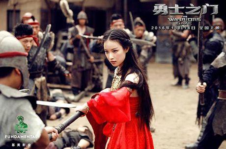 My nhan Hoa lan at sao Hollywood trong phim hanh dong - Anh 1