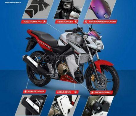 Yamaha V-Ixion Advance ban dac biet gia 43,7 trieu dong - Anh 1