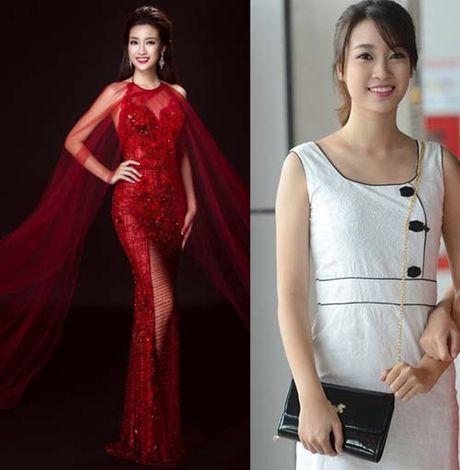 Hoa hau Do My Linh thay doi den chong mat sau vai thang dang quang - Anh 6