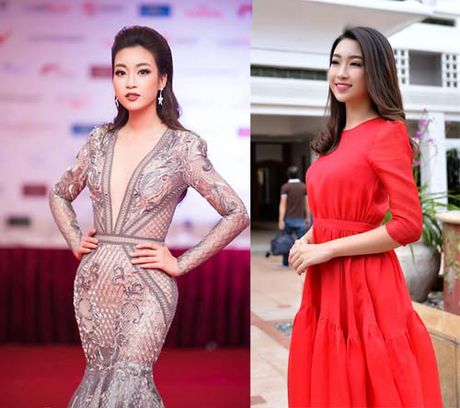 Hoa hau Do My Linh thay doi den chong mat sau vai thang dang quang - Anh 7