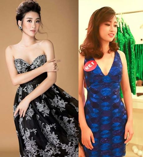 Hoa hau Do My Linh thay doi den chong mat sau vai thang dang quang - Anh 8