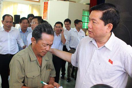 Bi thu Dinh La Thang chi dao lam ro nuoc cap cho dan vi sao lai ban - Anh 1