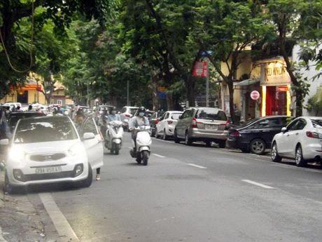 Do xe theo ngay chan le: So GTVT Ha Noi bi 'phe binh' - Anh 1