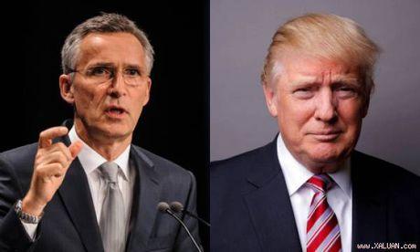 Lanh dao NATO keu goi EU tang ngan sach quan su de lam Trump vua long - Anh 1