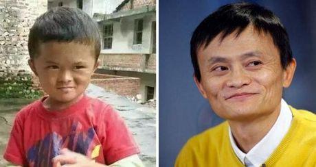 Cau be giong het Jack Ma gap rac roi vi noi tieng - Anh 1