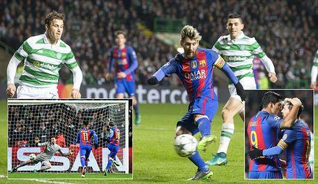 Celtic 0-2 Barcelona: Van la Lionel Messi - Anh 1