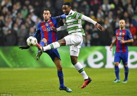 Celtic 0-2 Barcelona: Van la Lionel Messi - Anh 4