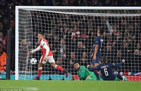 Arsenal 2-2 PSG: Phao thu tu ban vao chan - Anh 4