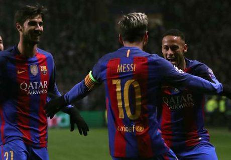 Lionel Messi dat cot moc ghi ban moi cung Barca o dau truong quoc te - Anh 1