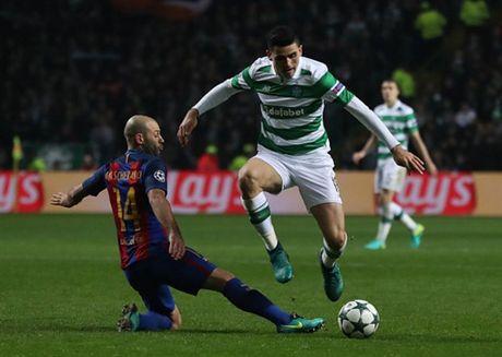 Thang nhe Celtic, Messi va Barcelona cung len dinh - Anh 4