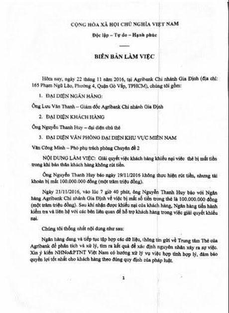 Diem loat vu chu tai khoan ngan hang bong dung mat tien oan - Anh 1