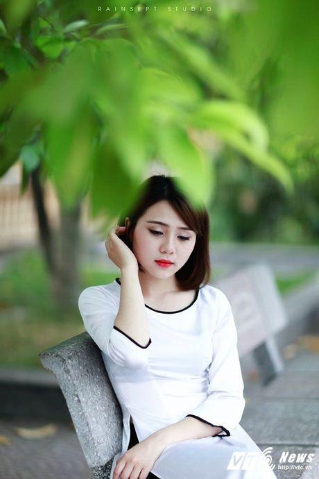 Hot girl DH Van hoa - Nghe thuat Quan doi xinh dep hut hon - Anh 2