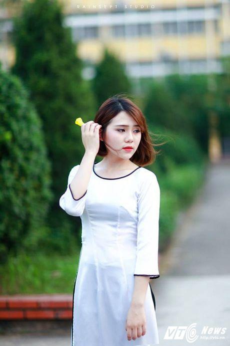 Hot girl DH Van hoa - Nghe thuat Quan doi xinh dep hut hon - Anh 3