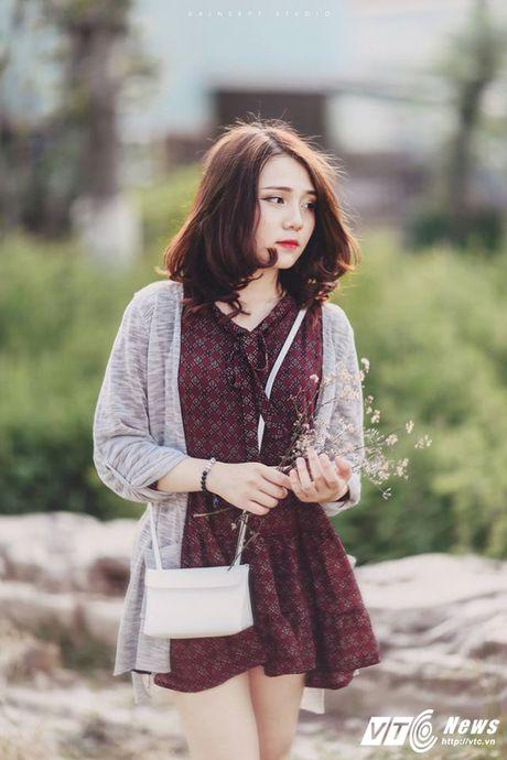 Hot girl DH Van hoa - Nghe thuat Quan doi xinh dep hut hon - Anh 4