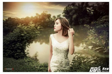 Hot girl DH Van hoa - Nghe thuat Quan doi xinh dep hut hon - Anh 6