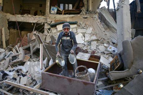 Canh tan hoang o thu do Damascus trong chien tranh - Anh 11