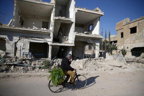 Canh tan hoang o thu do Damascus trong chien tranh - Anh 12