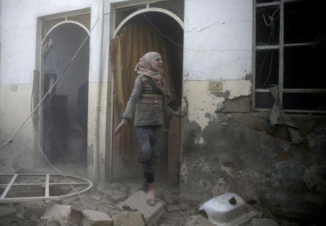 Canh tan hoang o thu do Damascus trong chien tranh - Anh 2