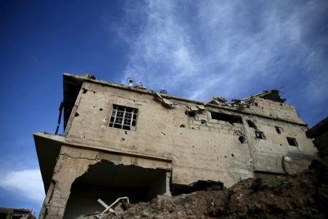 Canh tan hoang o thu do Damascus trong chien tranh - Anh 4