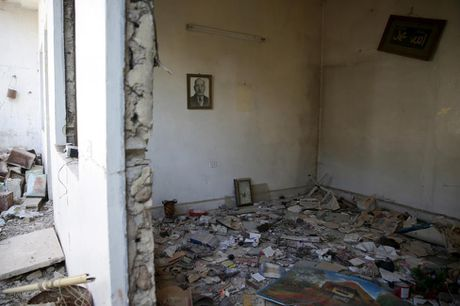Canh tan hoang o thu do Damascus trong chien tranh - Anh 5